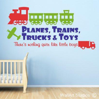 Planes, Trains, Trucks
