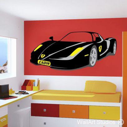 Ferrari with Name