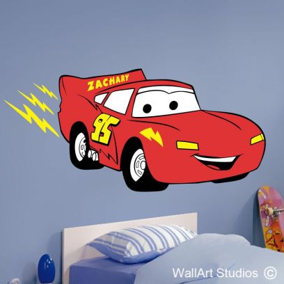 Lightning Car with Name