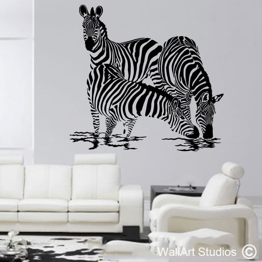 animals wall art stickers south africa wallart studios. Black Bedroom Furniture Sets. Home Design Ideas