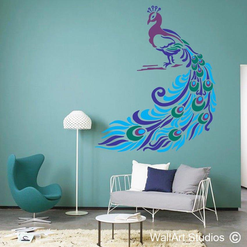 peacock wallart studios. Black Bedroom Furniture Sets. Home Design Ideas