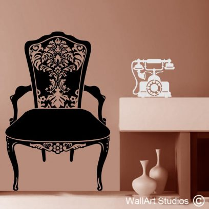 Vintage Chair Telephone