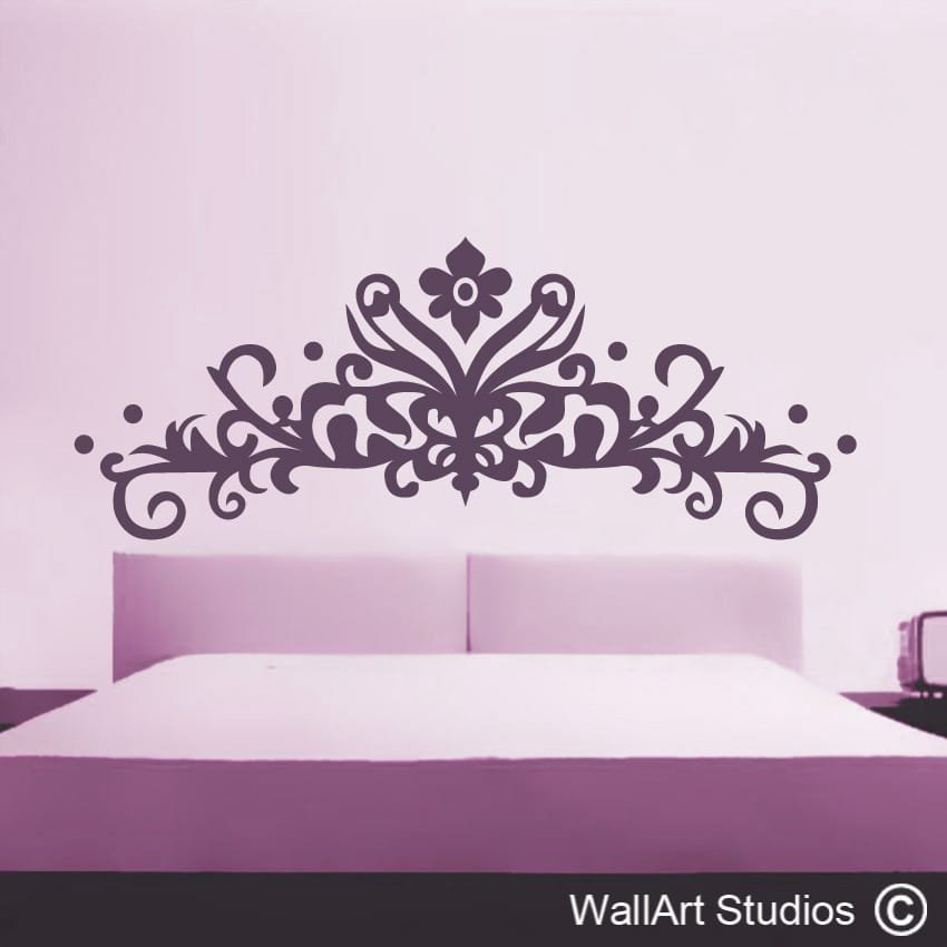 decorative headboard wallart studios pallet king size headboard wall art 101 pallets