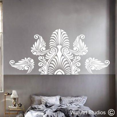 Nouveau wall art sticker, wall art decals