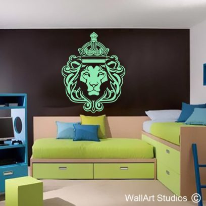 Lion of Judah, decals, stickers, wal, vinyl, home decor, lion, judah, rasta, keep calm