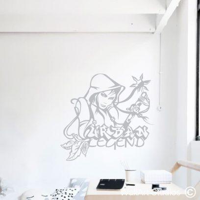 Urban Legend, anime, cartoon, movies, pokemon, decals, wall art, tennagers, girls bedroom ideas