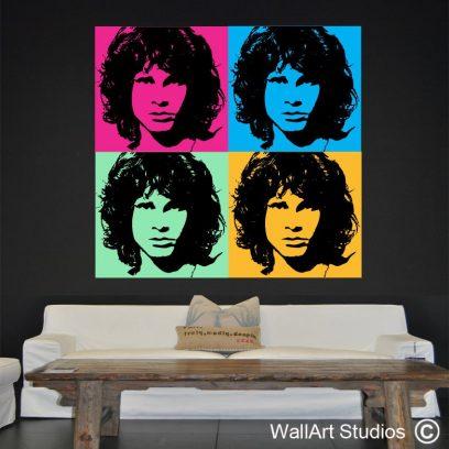 Warhol Morrison, Jim Morrison, Custom designs, Andy Warhol, legend