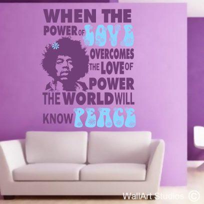 Hendrix Love, Jimi Hendrix, famous, love, world, people, home decor, clubbing