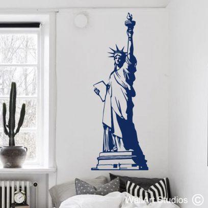 Statue of Liberty Wall Art Vinyl