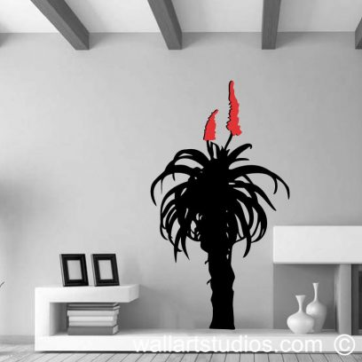 Aloe, decals, aloe wall art, africa, jeffreys bay, surfers, home decor, sport. glass