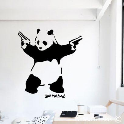 Panda Vinyl Decal Sticker
