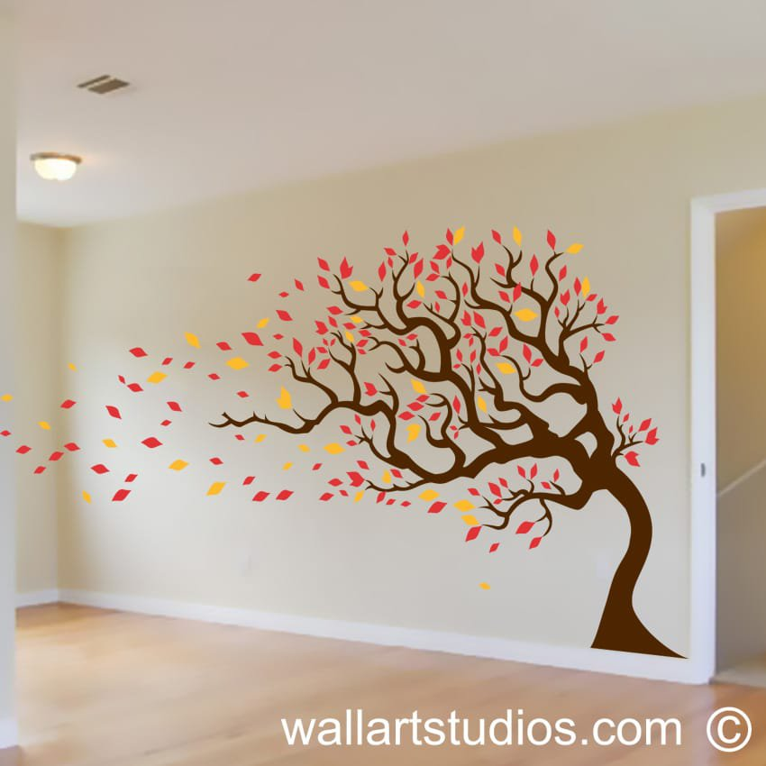 Vintage tree wallart studios for Tree wall art