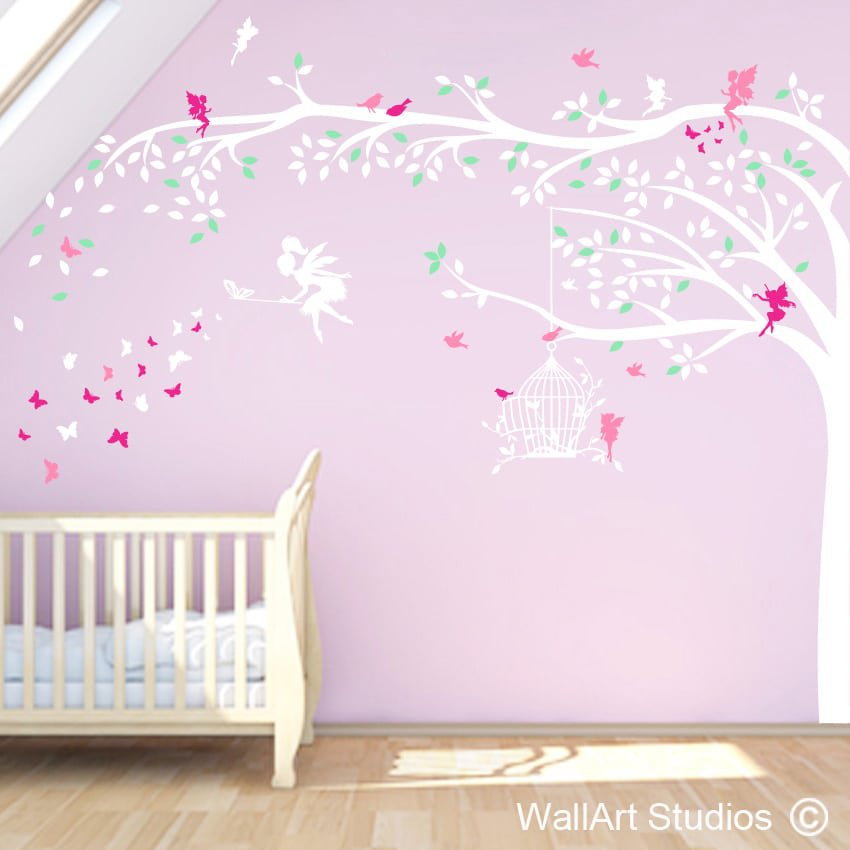 girls wall art stickers south africa | wallart studios