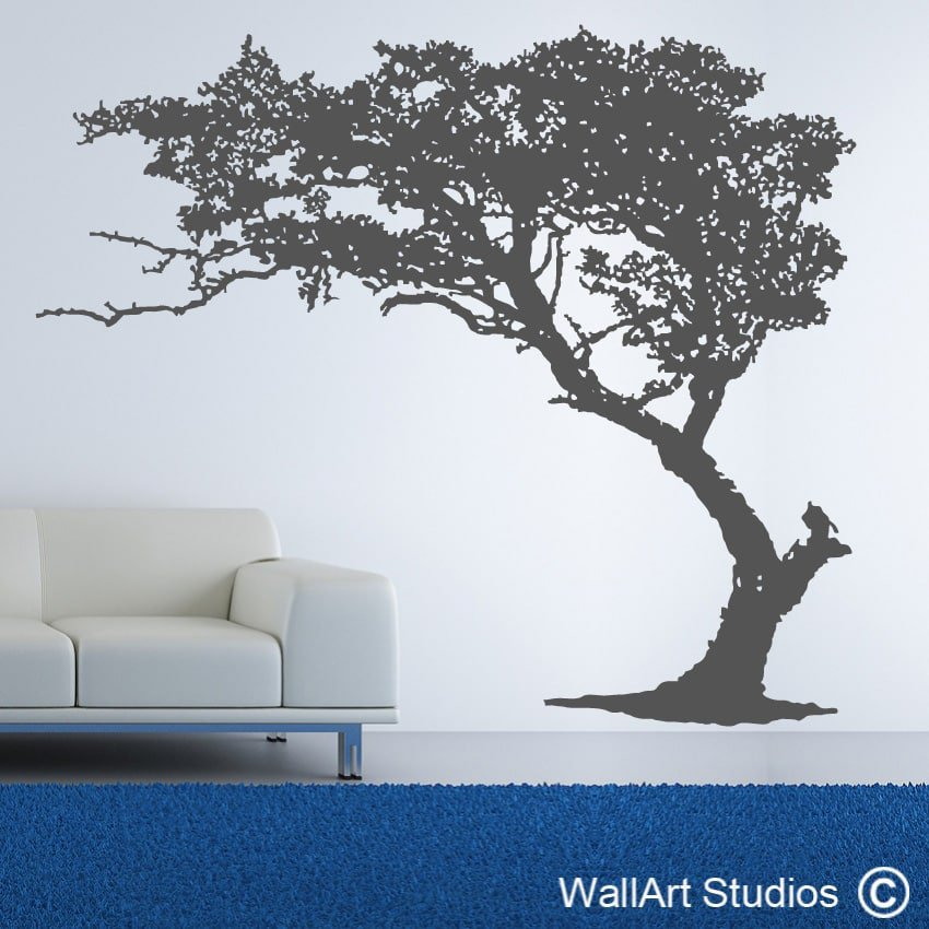 Wall Decorations Trees : Vintage tree wallart studios