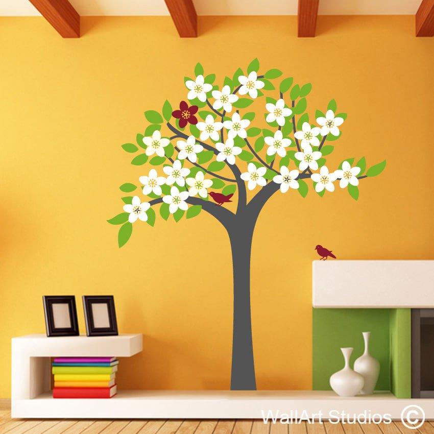 Spring Tree Wall Decor : Spring tree wallart studios