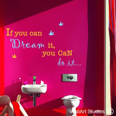You can do it wall quotes, vinyl wallquotes, wall quote decals, wall art quotes for home decor, wall quotes for nursery, nursery quotes, inspirational wall quotes