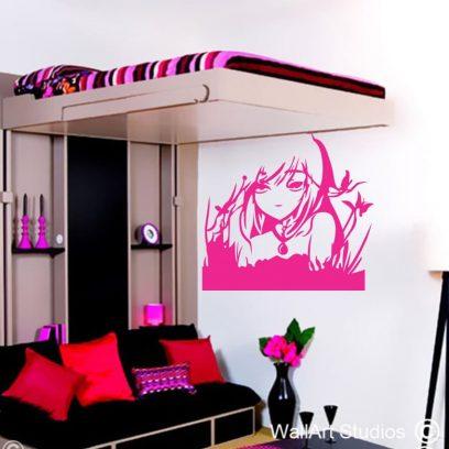 anime kimi wall art sticker, cartoon wall art decals, Kimi ni Todoke decals