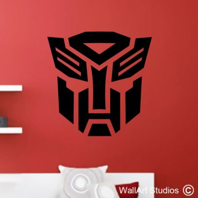 optimus prime, transformers wall art stickers decals boy