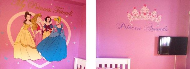 Disney Princesses with Tiara