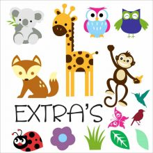 DIY Extras Wall Stickers