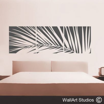 Palm Leaf wallart sticker