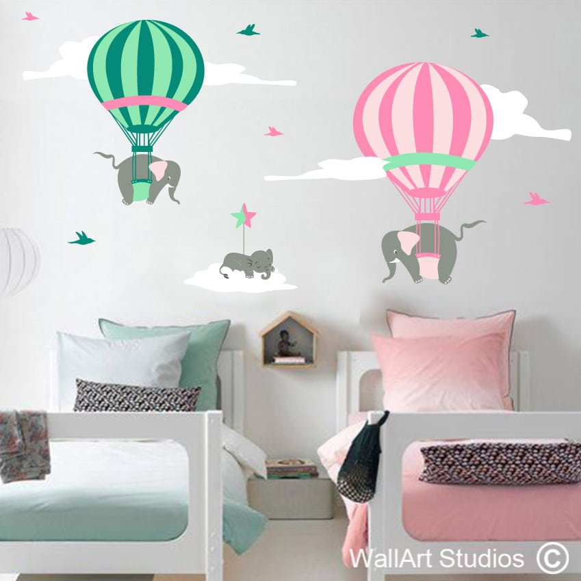 Hot Air Balloon Baby Room