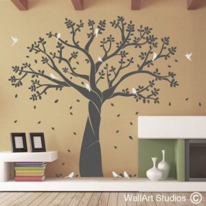 Family Photo Tree wall art decal, family photo tree wall stickers