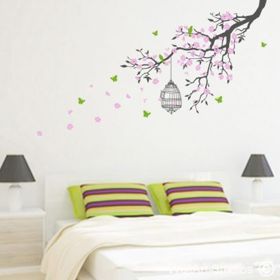 Freedom Branch Blossoms Wall Decals