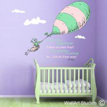 Dr Seuss & Friends Wall Art