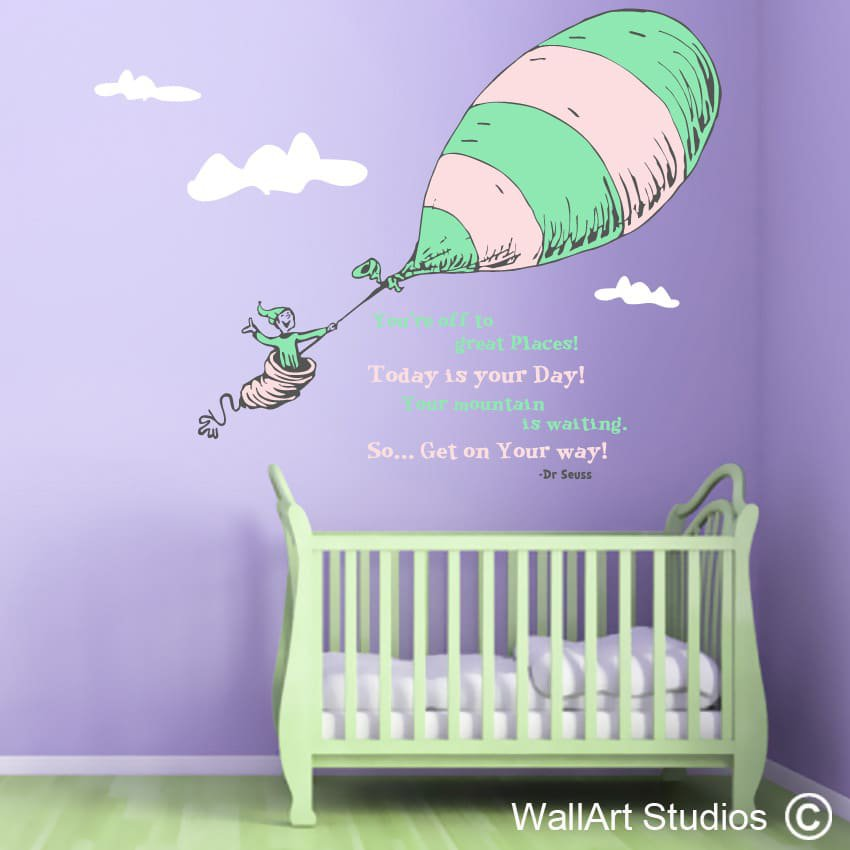 Dr Seuss Wall Decor wall art stickers & wall decals & tattoos sa | wall art studios
