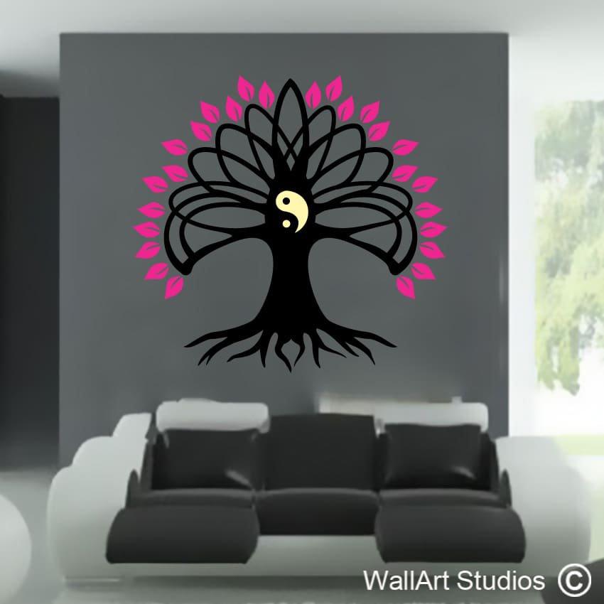 1f199a0947 Yin Yang Tree of Life   Wall Art Studios