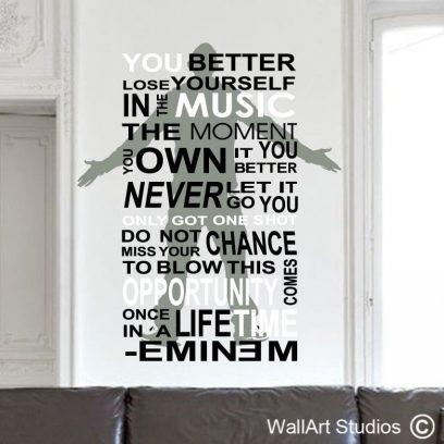 Eminem Wall Art Sticker