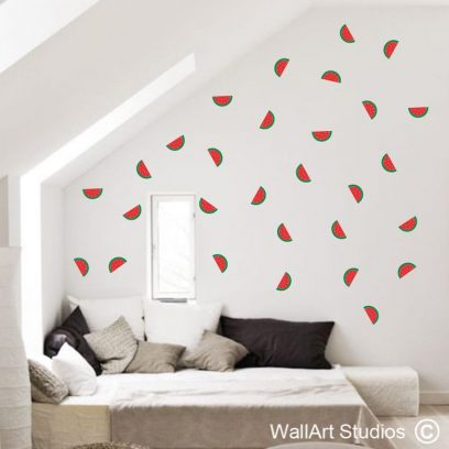 Watermelons Wall Art Stickers