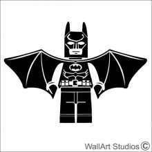 Batman Lego Wall Art , stickers