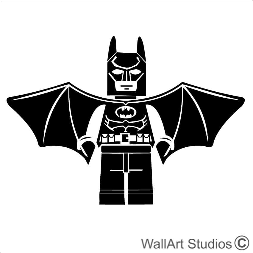 Batman Lego Wall Art Wall Art Studios