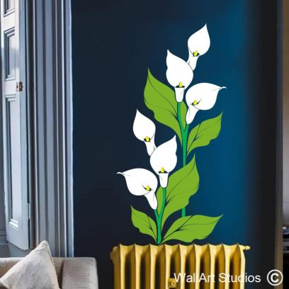 Arum Lily Wall Art Sticker