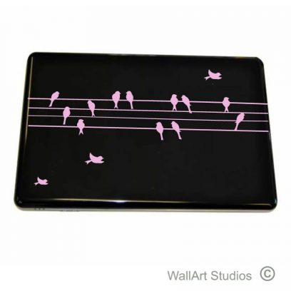 Birds on a Wire Laptop Decal, acer, hp, dell, macbook, stickers