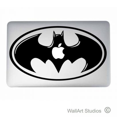 Batman Laptop Tattoo, acer, dell, hp, apple, macbook, sticker, decal