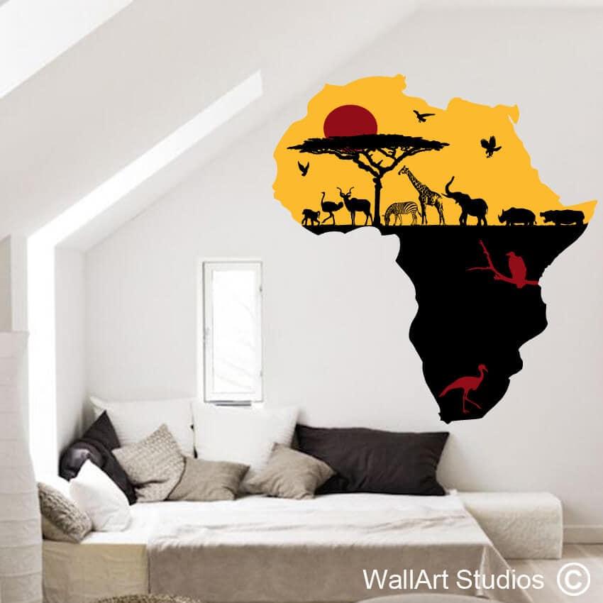 Africa safari animals