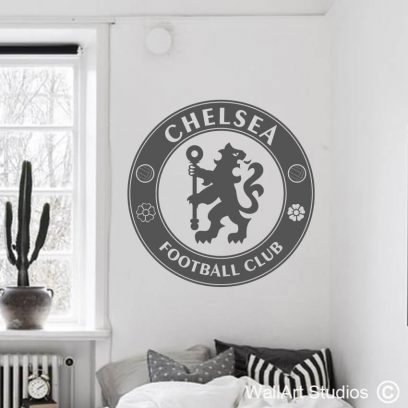 Chelsea Football Club, decals, soccer, premier league, champions, stickers, tattoo, home decor, sports, custom, uk, south africa