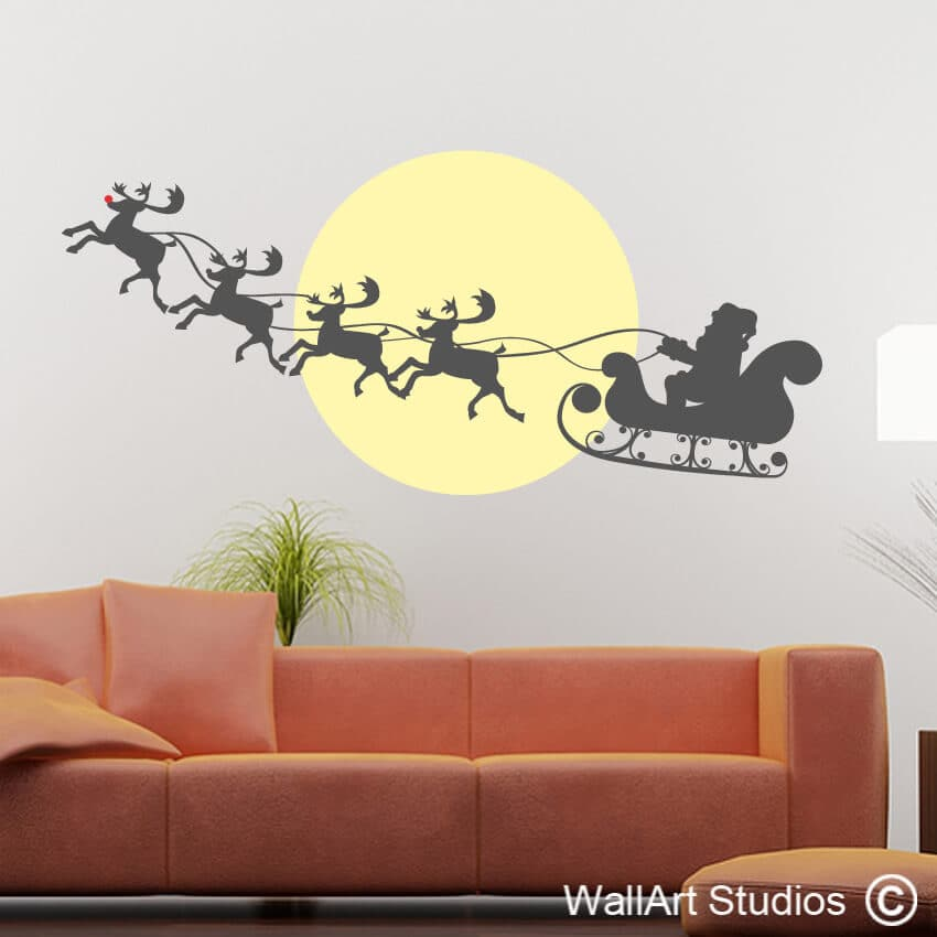 Christmas Wall & Glass Stickers Archives | Wallart Studios