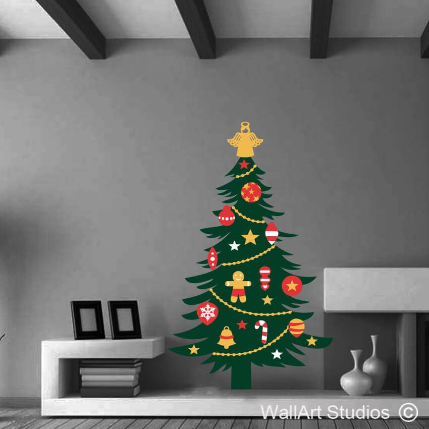 Christmas Wall Amp Glass Stickers Archives Wall Art Studios