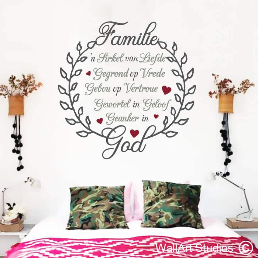 Afrikaans Wall Art Stickers South Africa