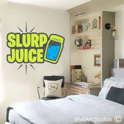 Fortnite Slurp Juice Wall Decal, fortnite, Slurp juice, Gamer decals, xbox, pc games, playstation, custom gaming decals