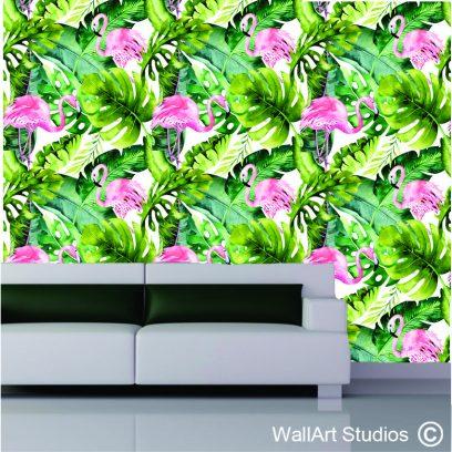 WPA2 Flamingo wallpaper