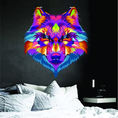Abstract wolf2