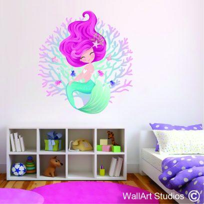 WDMM1 - mermaid in coral