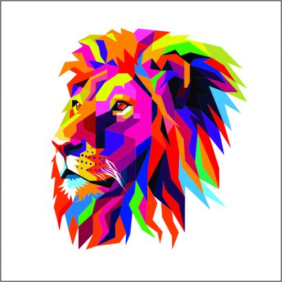 WDAL - Abstract Lion