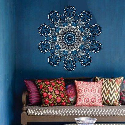 WDBM2 Blue Ornamental Mandala