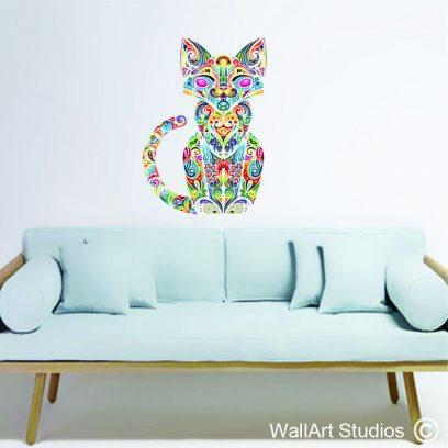 WDCC - Colourful Cat